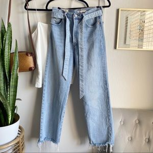 Levi's Premium Tie Waist Ribcage Jeans